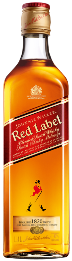 Image for JOHNNIE WALKER RED LABEL
