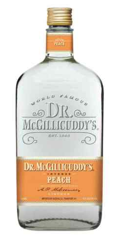 Image for DR MCGILLICUDDYS PEACH SCHNAPPS