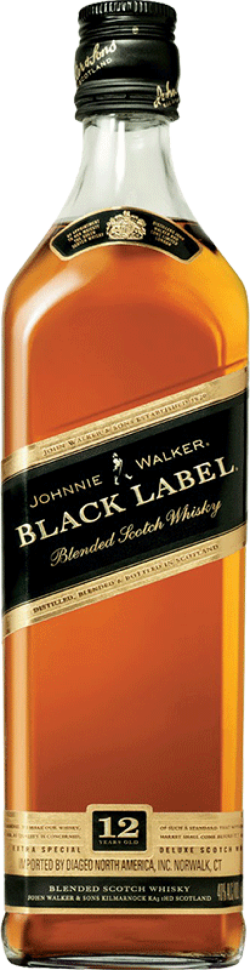 Image for JOHNNIE WALKER BLACK LABEL
