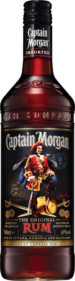 Image for CAPTAIN MORGAN BLACK LABEL